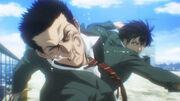 Ryota punches Oda
