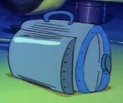Suitcase Delorean