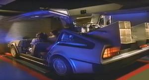 8-passenger DeLorean side view