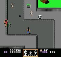 Back to the Future NES Screen