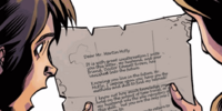 Clara's letter