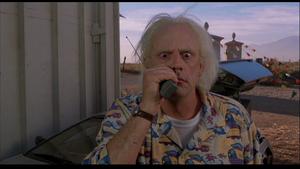 Doc's walkie talkie