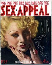 Paris Sex Appeal December 1935
