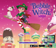 Bubble Witch 2 Saga Merry Christmas & Happy New Year Loading