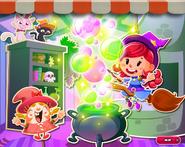 Candy Crush Saga - Bubblegum Hut Background