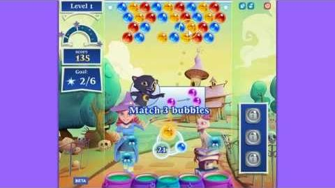 Bubble Witch Saga 2 Level 1 NEW!!!