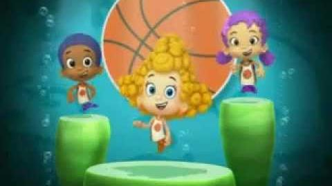 Bubble Guppies Tunes 21 Basketball Dance