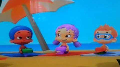 Bubble Guppies UK Spaghetti and Beachballs