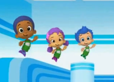Image oona and goby and gil bubble guppies for Bubble guppies fish