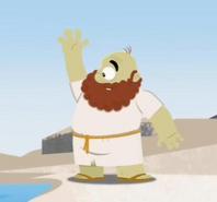 A viking...