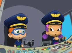 Oona x nonny on plane