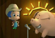 Gil and the pig