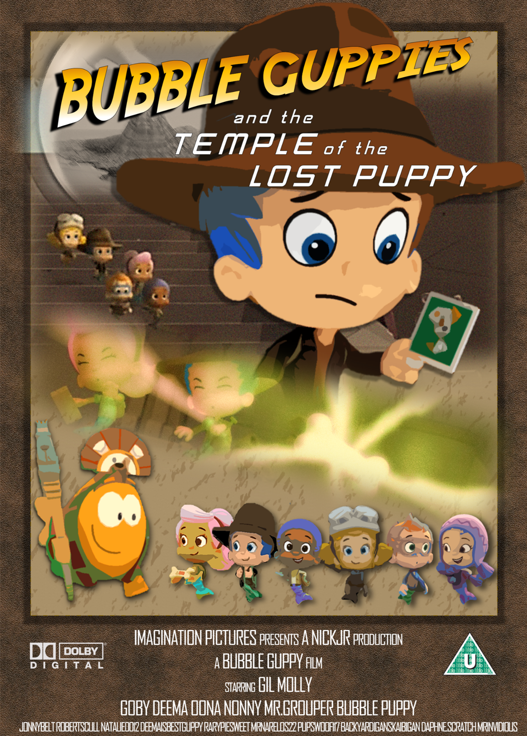 image bubble guppies fake movie poster by mrinvidious png