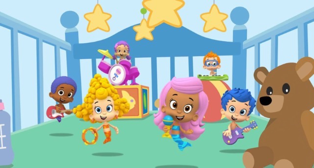 Bubble Guppies Car Game