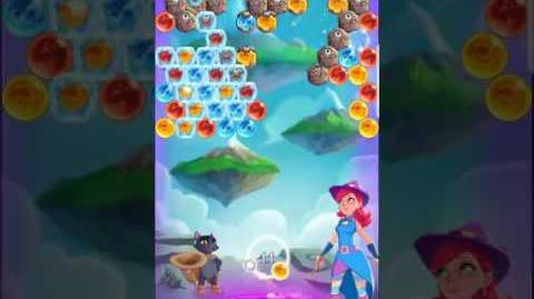 Bubble Witch 3 Saga Level 433 (First Look) Boosters
