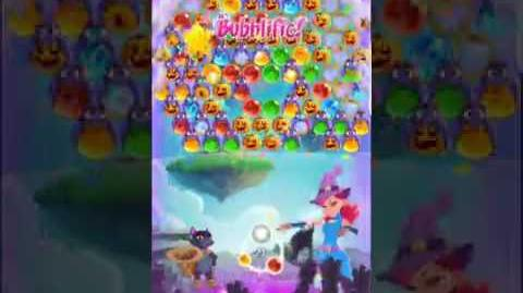 Bubble Witch 3 Saga Level 434 (First Look) Boosters