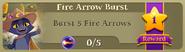 BWS3 Quests Fire Arrow Burst 5
