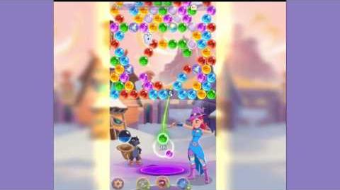 Bubble Witch 3 Saga Level 56 - no boosters