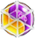 BWS3 Duo Yellow-Purple bubble under spider web