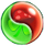 BWS3 Duo Green-Red bubble