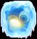 BWS3 Ice Fairy Tale Blue bubble