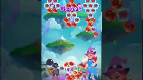 Bubble Witch 3 Saga Level 436 (First Look) Boosters
