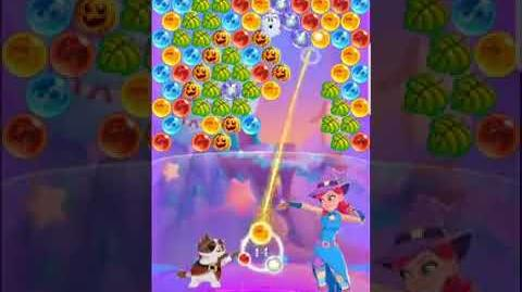 Bubble Witch 3 Saga Level 534 (First Look 👀) Boosters