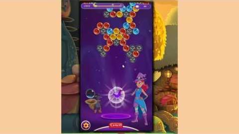 Bubble Witch 3 Saga Level 34 ~ Training Level for Sparkling Blast