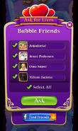 BWS3 Ask for Lives Bubble Friends Ask