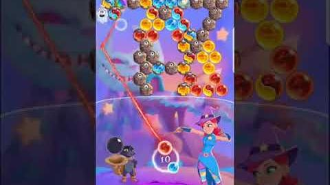 Bubble Witch 3 Saga Level 526 (First Look 👀) Boosters