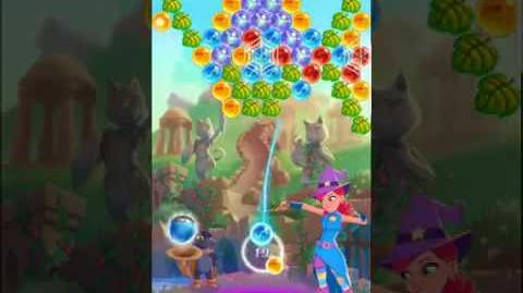 Bubble Witch 3 Saga Level 518 No Boosters ⭐️⭐️