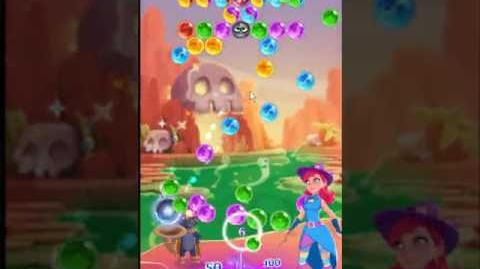 Bubble Witch 3 Saga Level 150 ~ 2 stars ~ no boosters