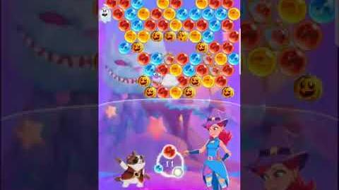 Bubble Witch 3 Saga Level 522 (First Look 👀) Boosters