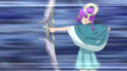 Kuguru using Star Bow, Artemis Arrow