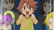 Hanako cheering