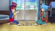 Gao and Tasuku buddyfighting