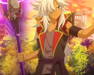 Rouga's new outfit