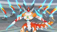 Super Sun Dragon, Balle Soleil (Anime-NC)