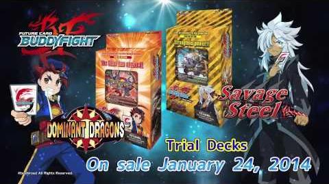 Future Card Buddyfight TVC TD01-02 BT01-1