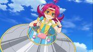 Paruko in her saucer