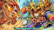 Super Clash! Bal Dragon + Super Clash! Duel Jaeger (Full Art)