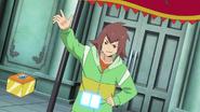 Kenta with his Core Gadget