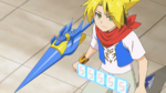 Noboru with his New Core Gadget
