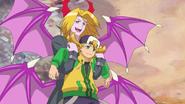Tetsuya with Rucifiel