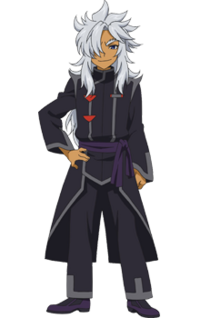 Rouga with Wolf's outfit