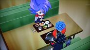 Gaito and Abygale lunchtime