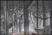 Buffy spike's factory sketch