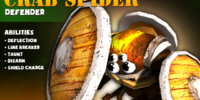 Crab Spider Shield Bearer