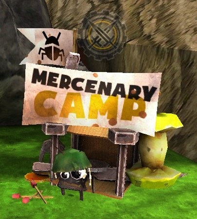 Mercenary camp