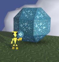 Shape square bicupola prism